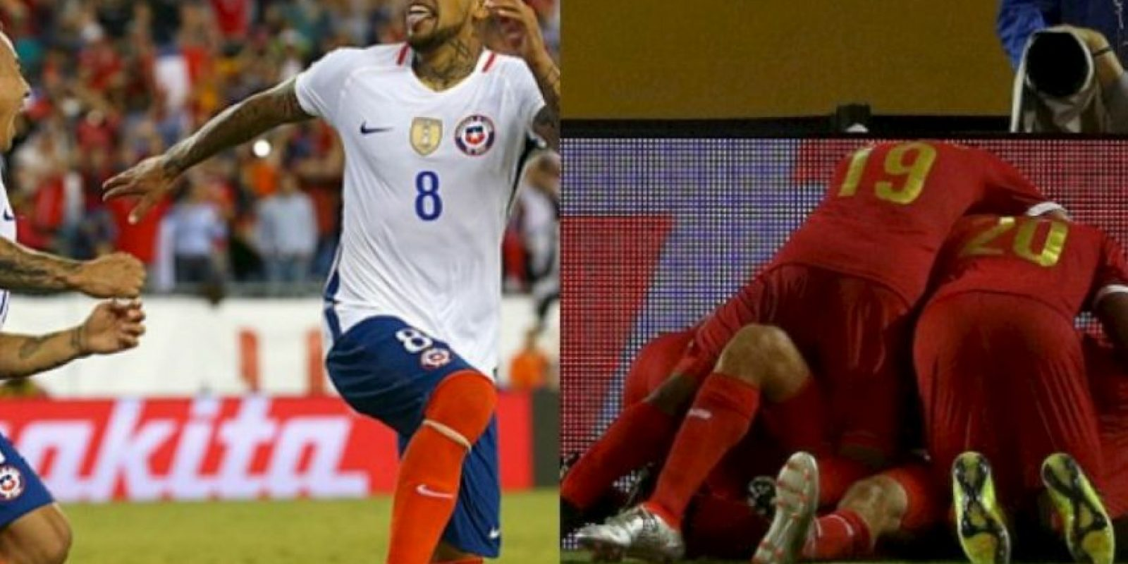 Chile vs. Panamá Foto: Getty Images