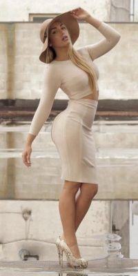 Es una modelo italiana Foto:Vía instagram.com/elisadepanicis