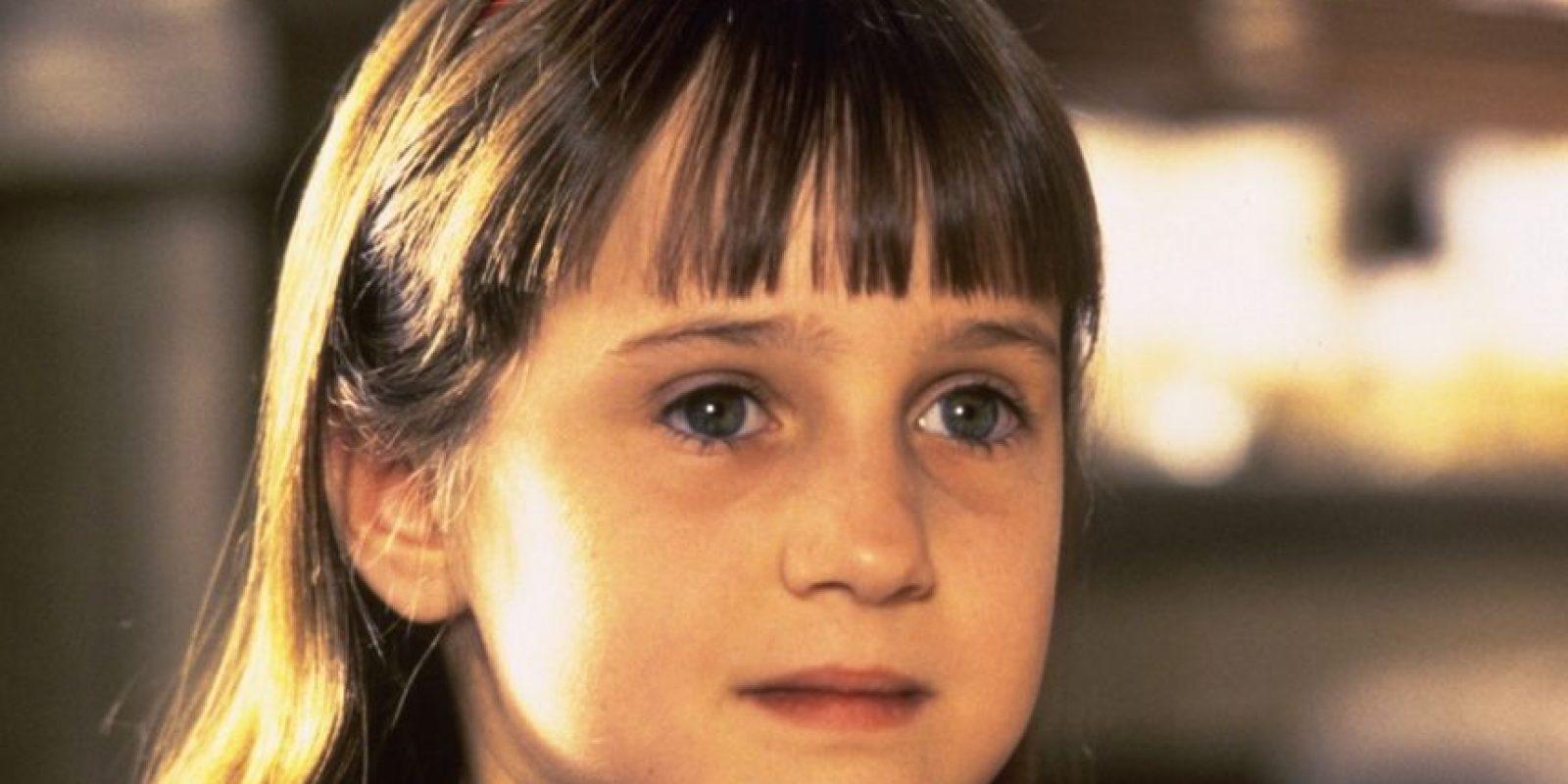 """La conocimos en la película """"Matilda"""" Foto:Vía imbd"""