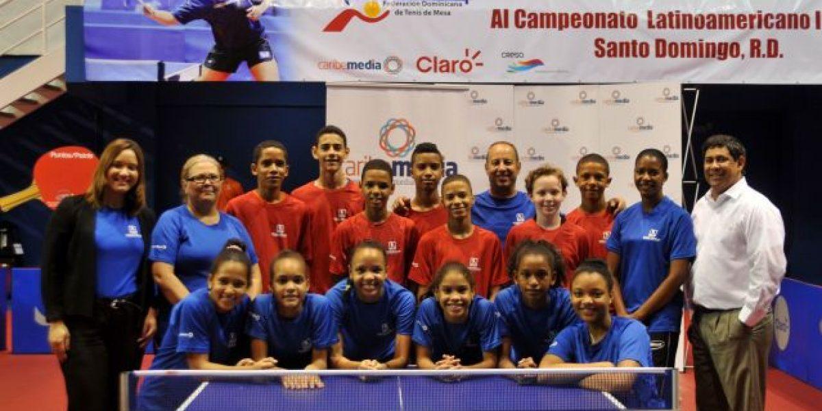 El Campeonato Latinoamericano Tenis Mesa desde hoy