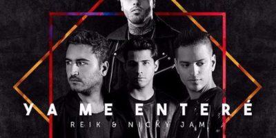 """Portada del remix del sencillo """"Ya me enteré"""" junto a Nicky Jam Foto:Fuente Externa"""