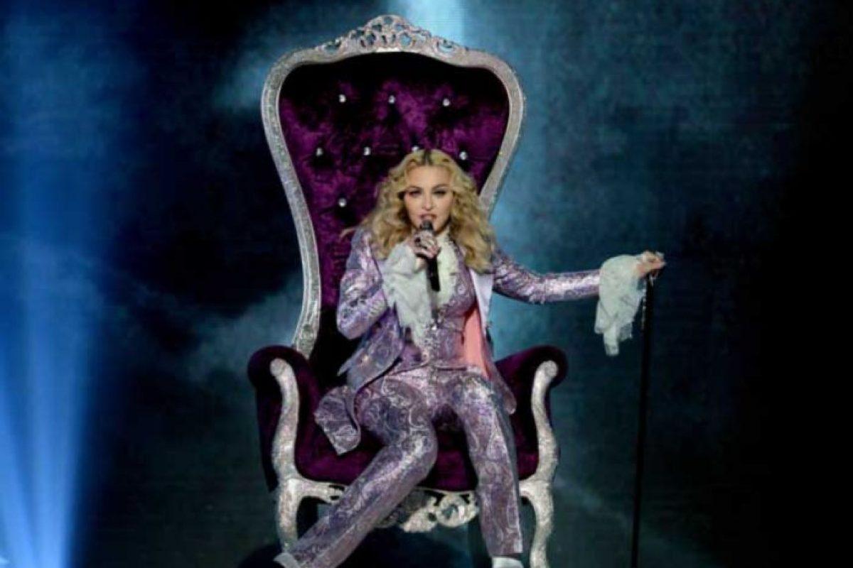 Madonna recibió a su hijo Rocco a los 40 años Foto:Getty Images