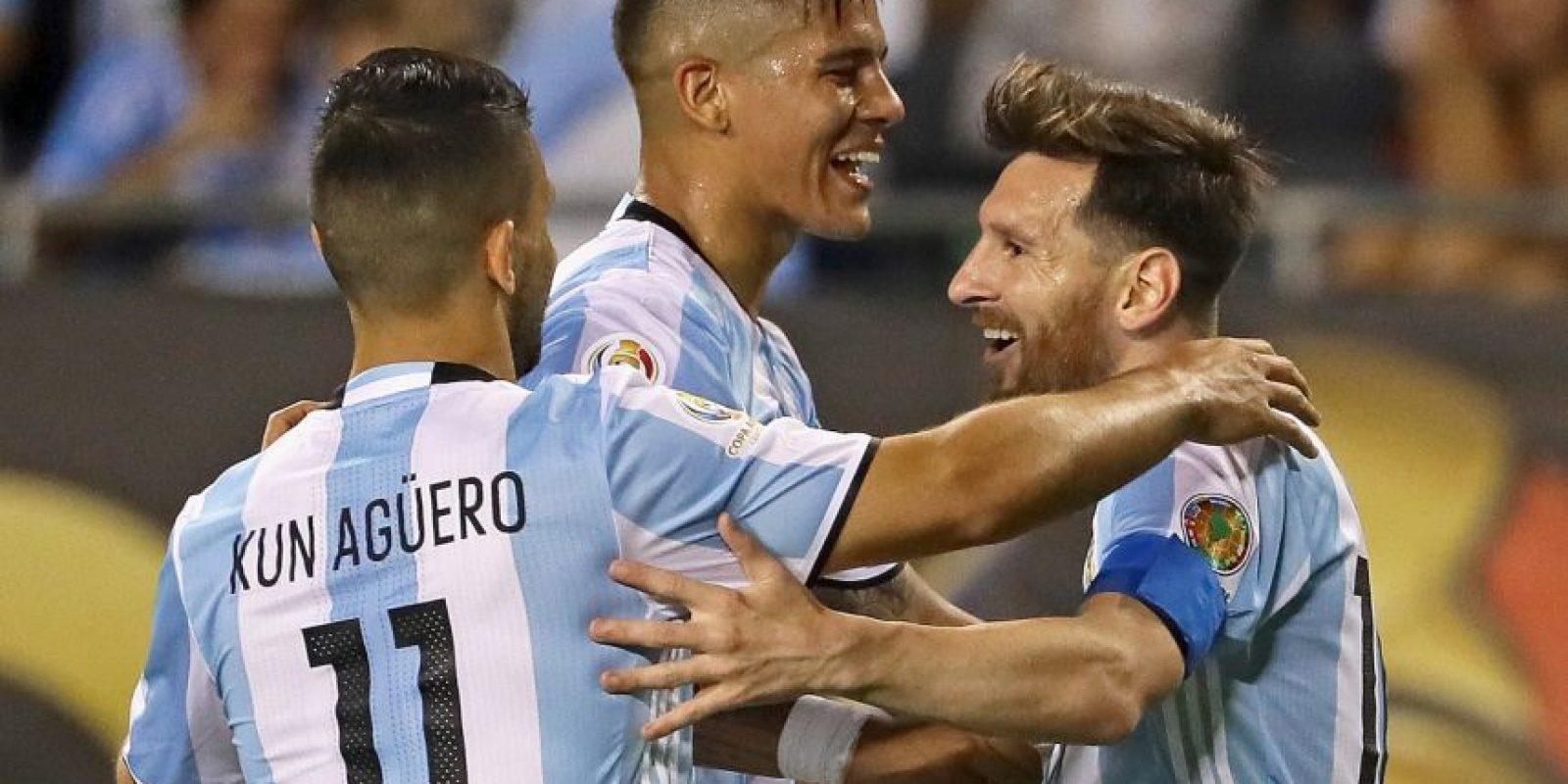 Argentina goleó a Bolivia en la última fecha y aseguró el primer lugar del Grupo D de la Copa América Centenario Foto:Getty Images