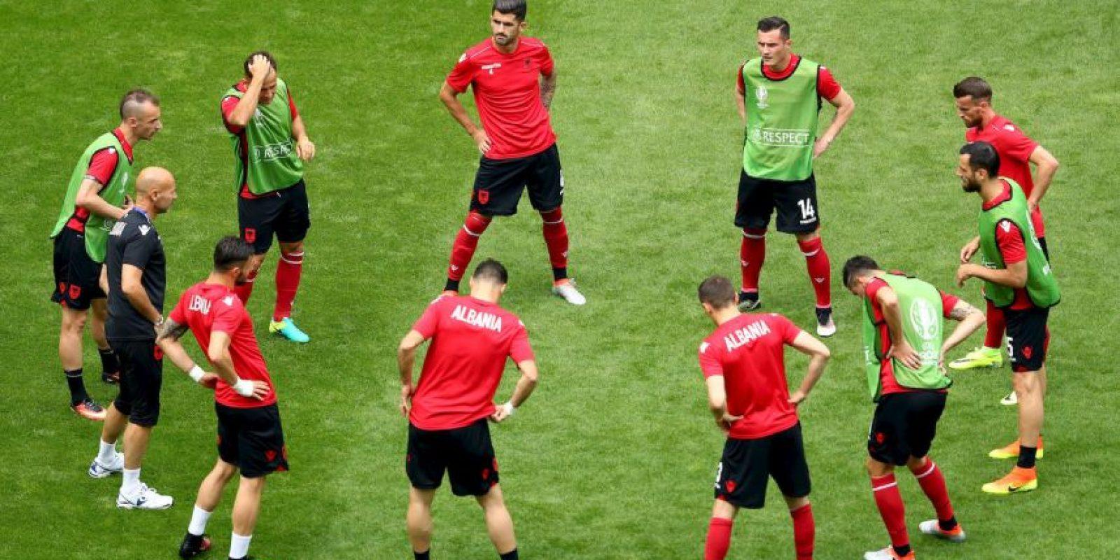 Albania busca su primer triunfo en el torneo Foto:Getty Images