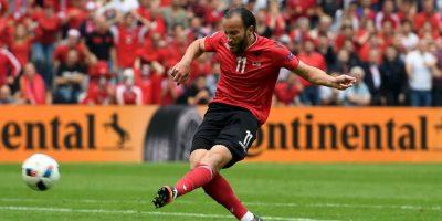 Albania, en tanto, no pudo tener un buen debut histórico en la Eurocopa y cayó por 1 a 0 ante Suiza Foto:Getty Images