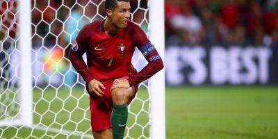 Cristiano Ronaldo es llamado a ser la gran figura de Portugal, pero en el debut poco mostró Foto:Getty Images