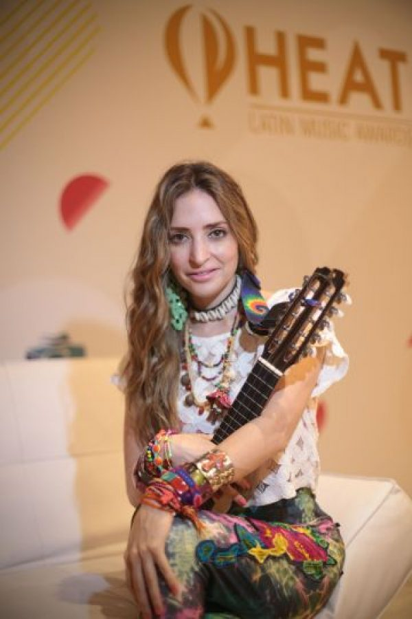 Mirella Cesa quier ser la mejor Artista Femenina. Foto:Roberto Guzmán