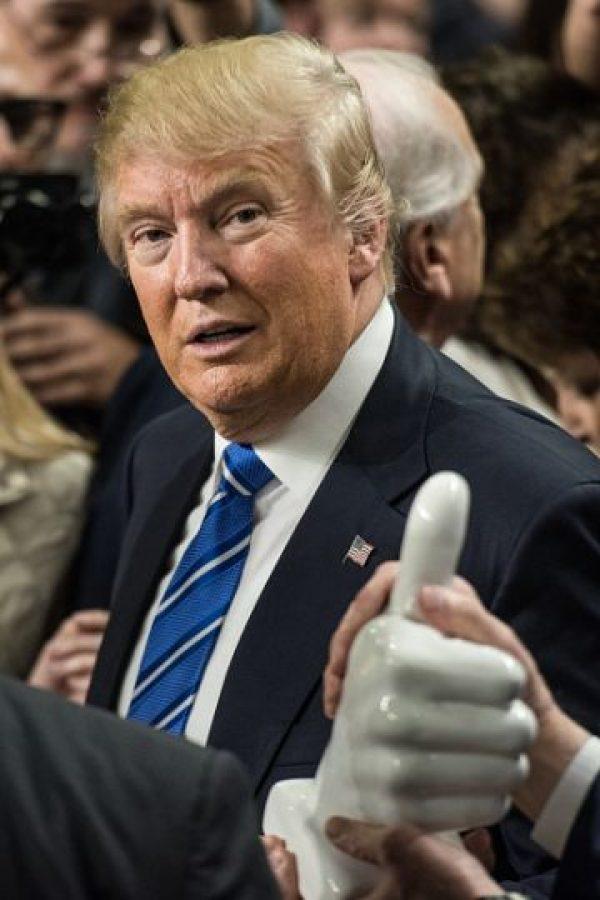 Entre las acciones por las que Trump divide a los republicanos está el escándalo de la Universidad Trump Foto:Getty Images