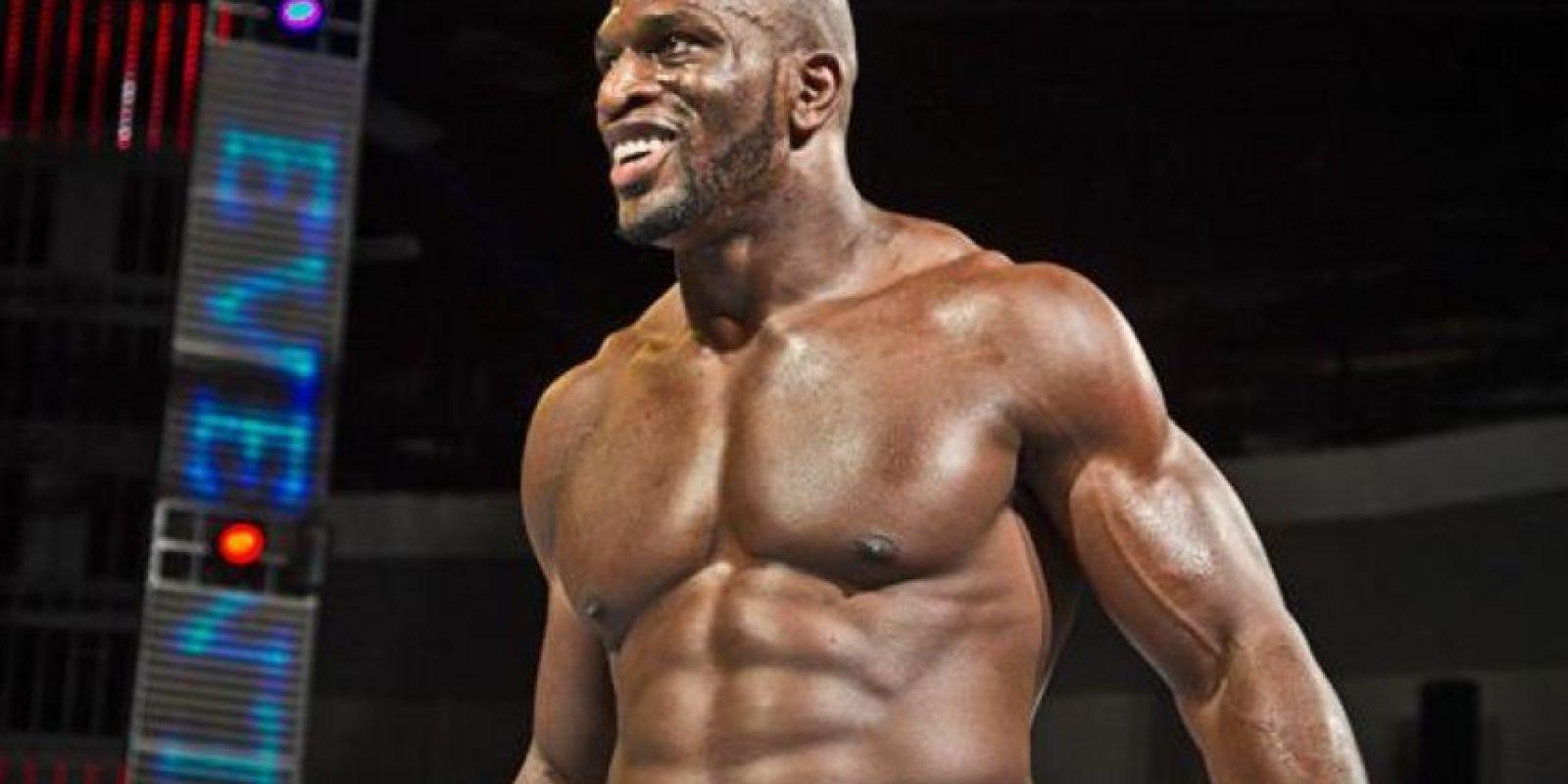 Ante Titus O'Neil Foto:WWE