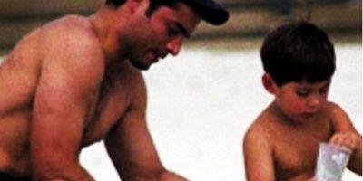 Chayanne y su hijo de 18 años muestran sus músculos en Instagram