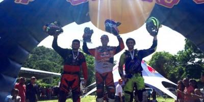 Alfredo Gómez gana el primer lugar en Machete Hard Enduro