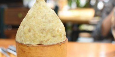 De guineito con pollo. Otro de los más curiosos, al que también se le podría añadir queso Foto:Fuente externa