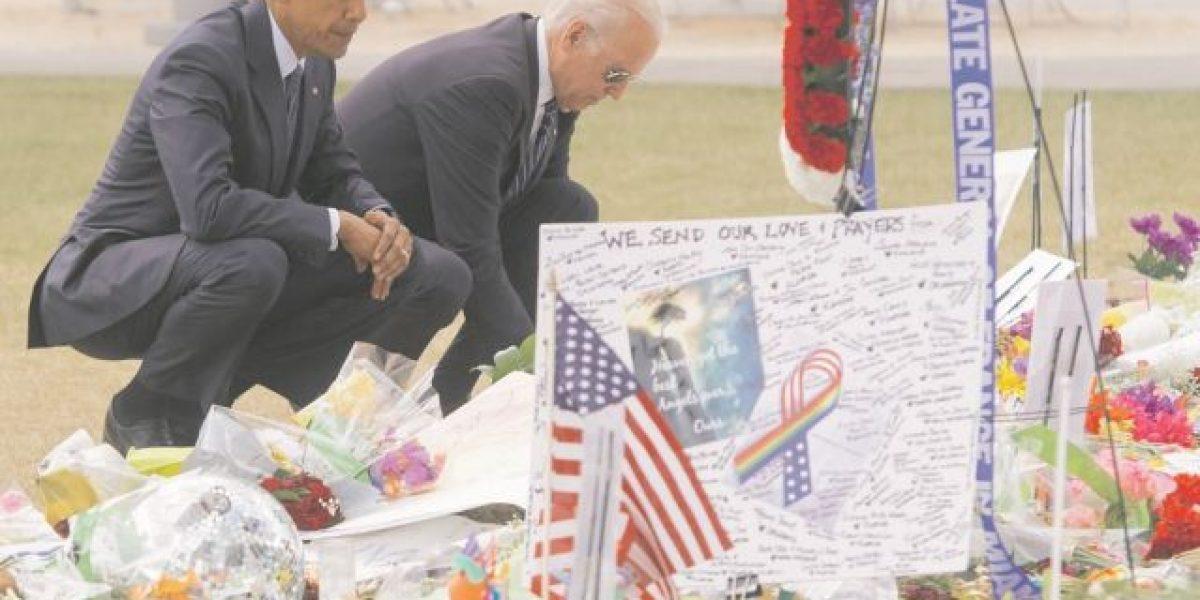 Barack Obama viajó a Orlando a consolar a los familiares