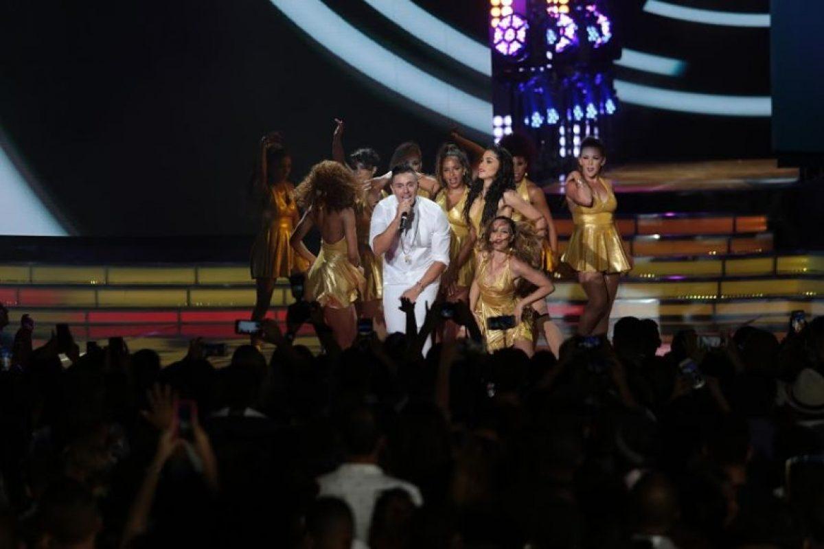 Joey Montana en su presentación en los premios HTV/Roberto Guzmán