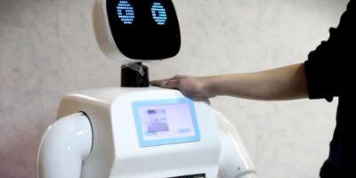 Promobot está diseñado para trabajar en áreas de alta concentración de personas, como centros comerciales. Foto:Promo-bot.ru