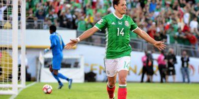 Chicharito está en un gran nivel y puede desequilibrar el marcador Foto:Getty Images