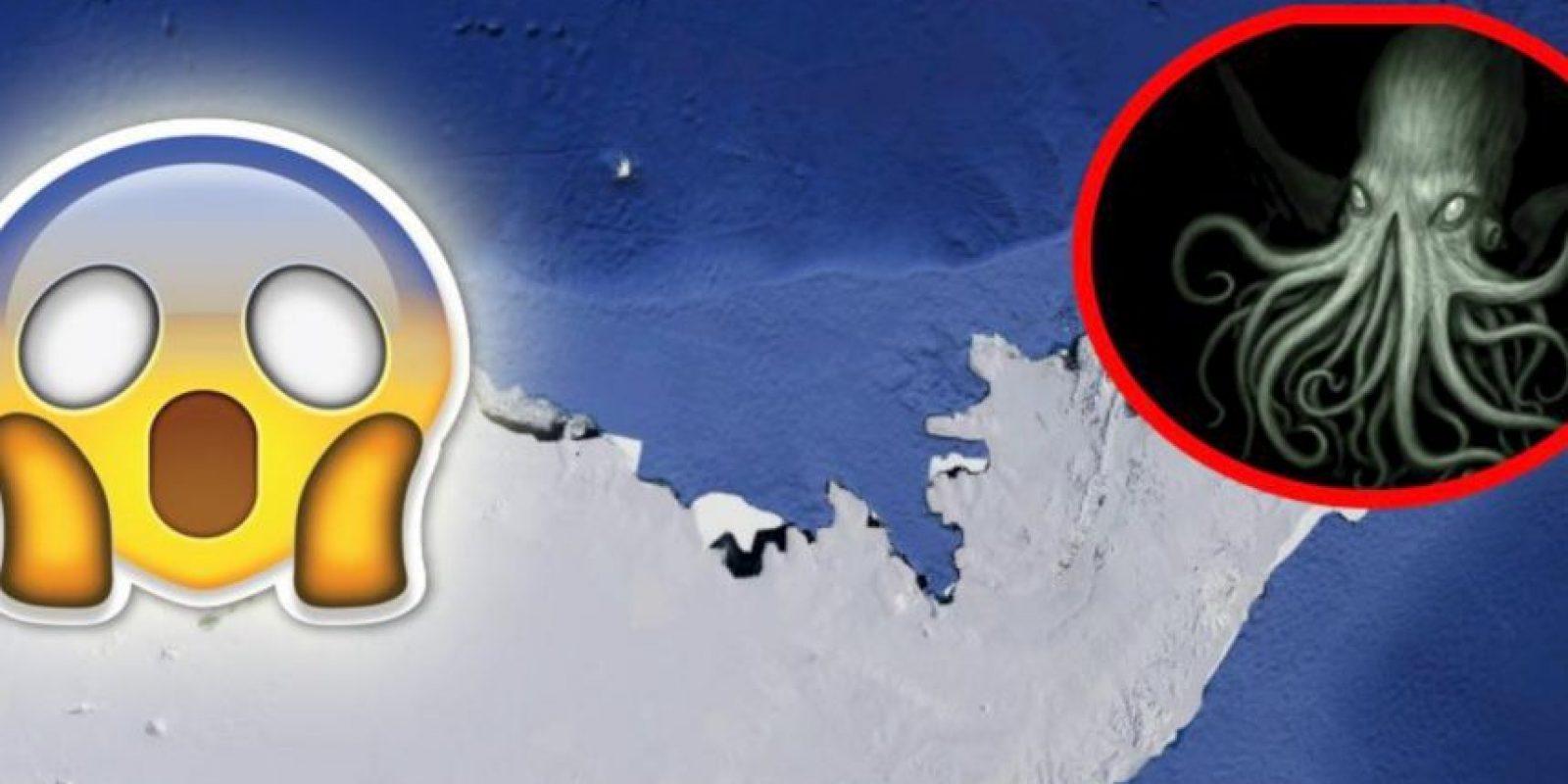 De acuerdo con la información, la Antártida sería el hogar de este monstruo mitológico. Foto:Google Maps