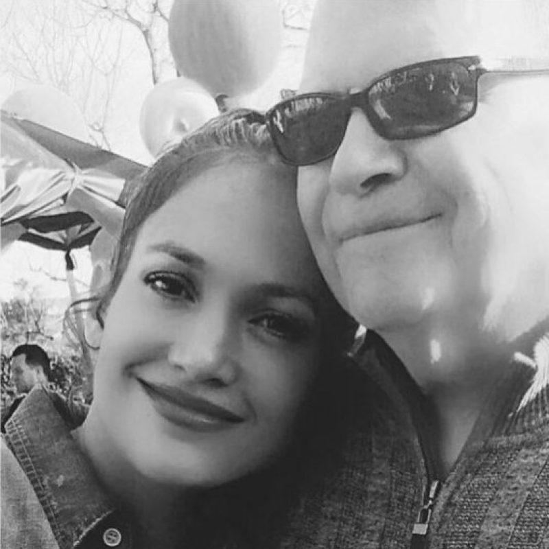 Jennifer López y su padre, David López Foto:Instagram @Jlo