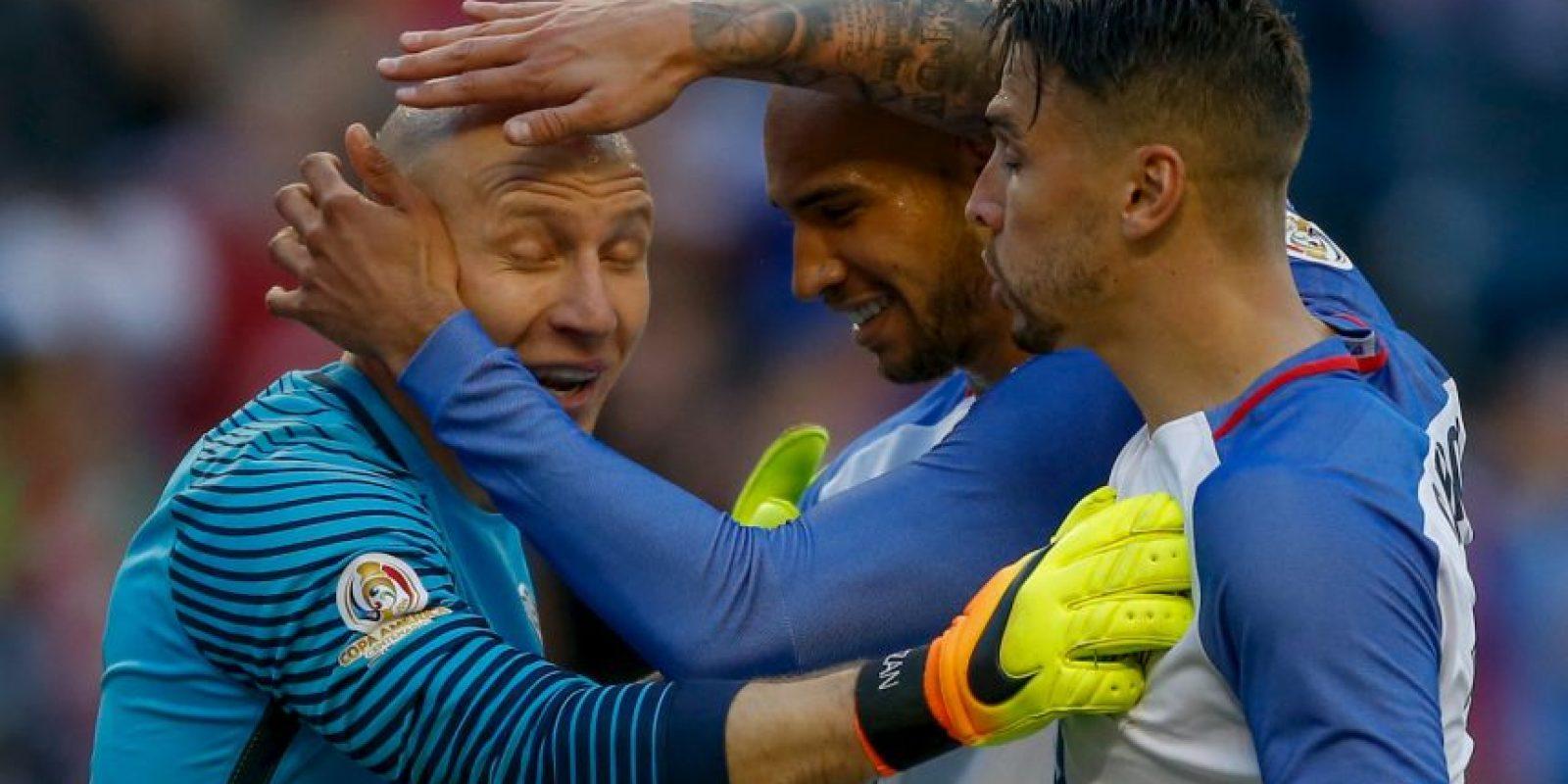 Estados Unidos, en tanto, venció por 2 a 1 a Ecuador y es el único representante de la Concacaf que sigue en carrera Foto:Getty Images