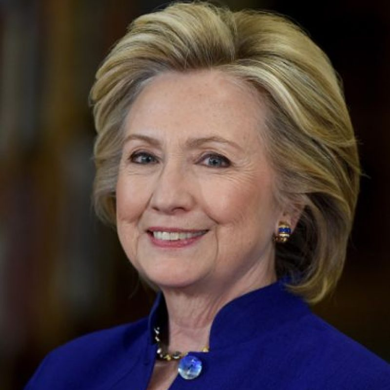 Se espera que Clinton sea nominada a finales del mes. Foto:Getty Images