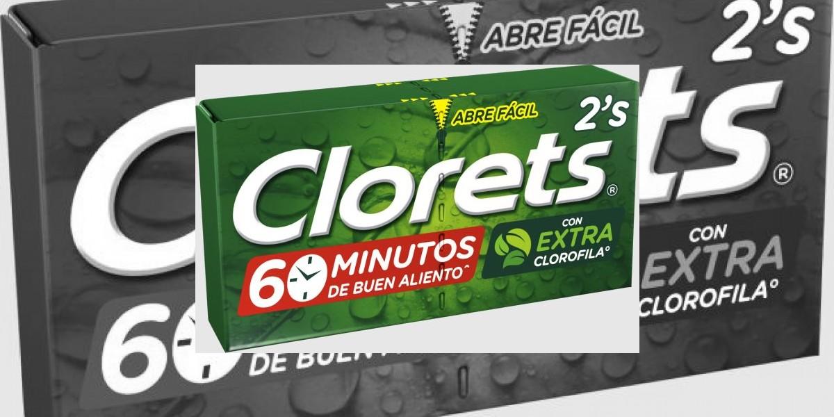 Clorets se renueva con el extra de clorofila
