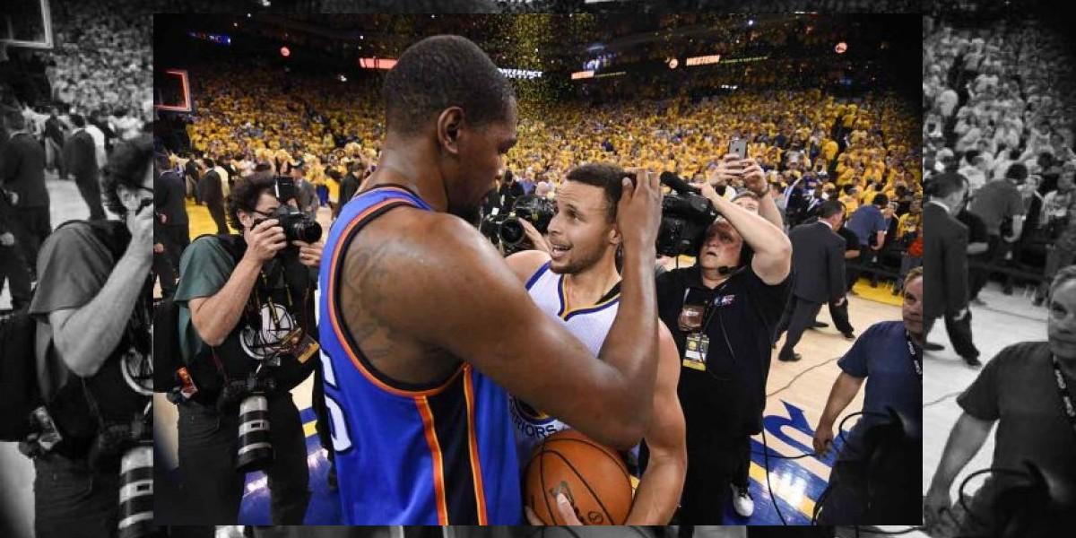 Kevin Durant podría a unirse a Stephen Curry y a los Warriors, según informes