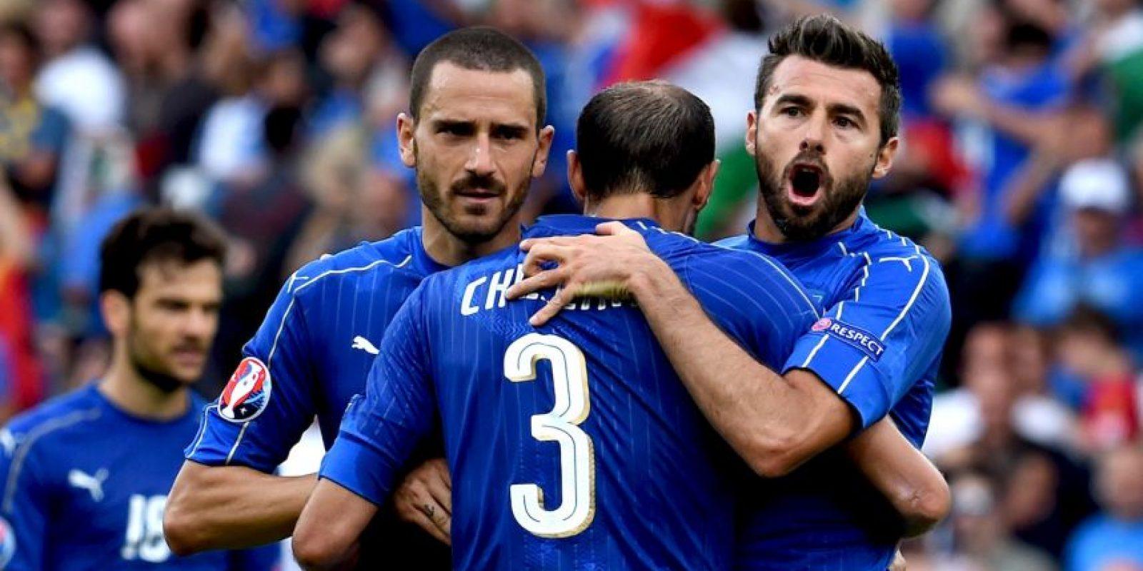 Italia ganó el Grupo E y clasificó a octavos de final Foto:Getty Images