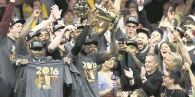 2- Final NBA: Cleveland logró lo imposible, obtener la victoria en una serie que estaba 3 a 1. ¿Qué los hizo moverse? La pasión. Y saber que toda una ciudad apostaba a ellos. ¡Ahora son héroes por ser sinónimo de esperanza! Foto:Fuente externa