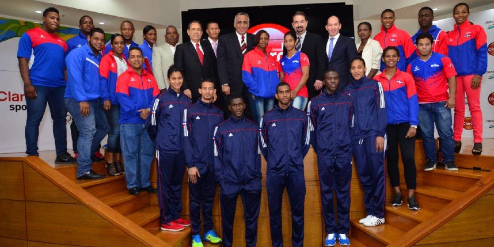 20 atletas, incluyendo cinco clasificados a Río 2016, dijeron presente en la actividad. Foto:Fuente externa