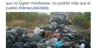 Sucede en diversos puntos de Venezuela Foto:Twitter.com/RevocaloYA