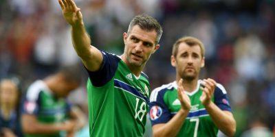 Irlanda del Norte sorprendió en su debut y quedó tercero de su grupo Foto:Getty Images