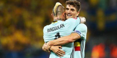 Bélgica es una de las grandes candidatas al título, pero aún no convence y salió segundo del Grupo E Foto:Getty Images