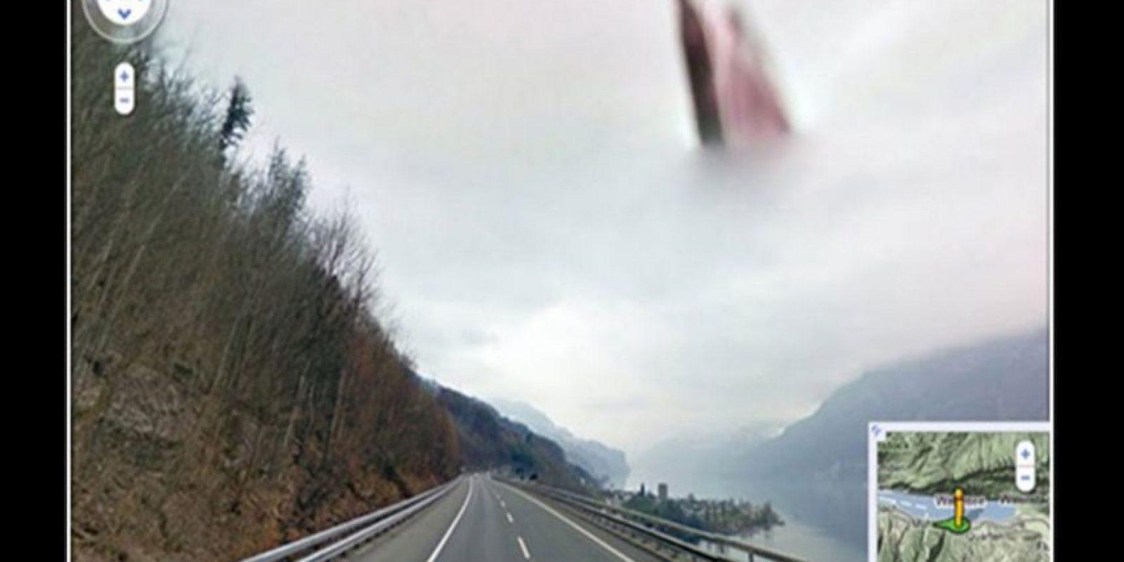 Imágenes misteriosas han aparecido en la plataforma de Google Street View sin que tengan una explicación clara. Foto:Reproducción Google Street View