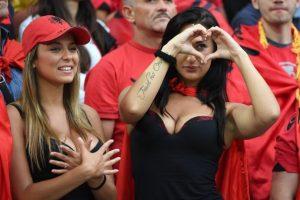 Las fans más guapas de la primera fase de la Euro 2016 Foto:Getty Images