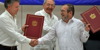 Histórico acuerdo de paz entre Colombia y FARC
