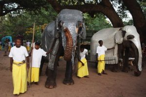 La población global de elefantes asiáticos ha disminuido 50% en los últimos 75 años Foto:Getty Images