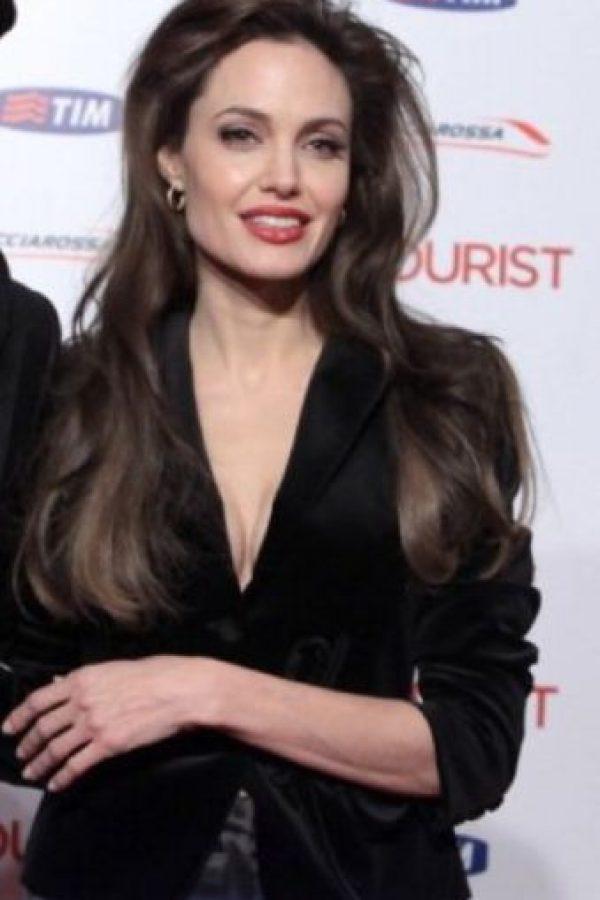 Así ha cambiado Angelina Jolie en los últimos 10 años Foto:Getty Images