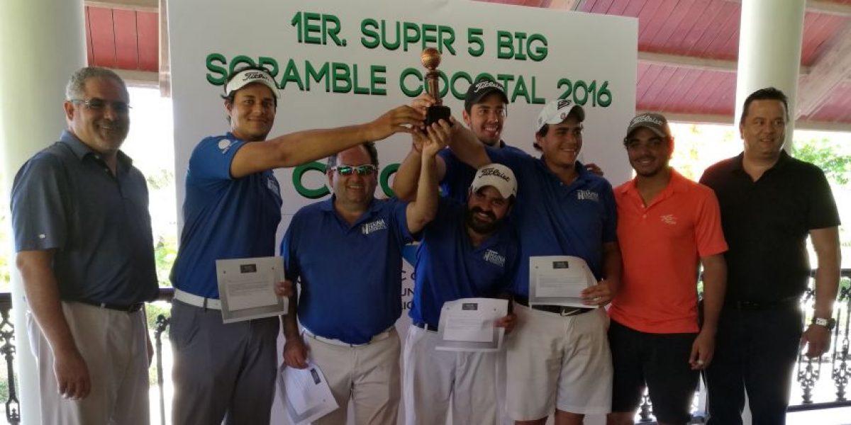 "Haina International gana torneo ""Super 5 Big Scramble Cocotal"""
