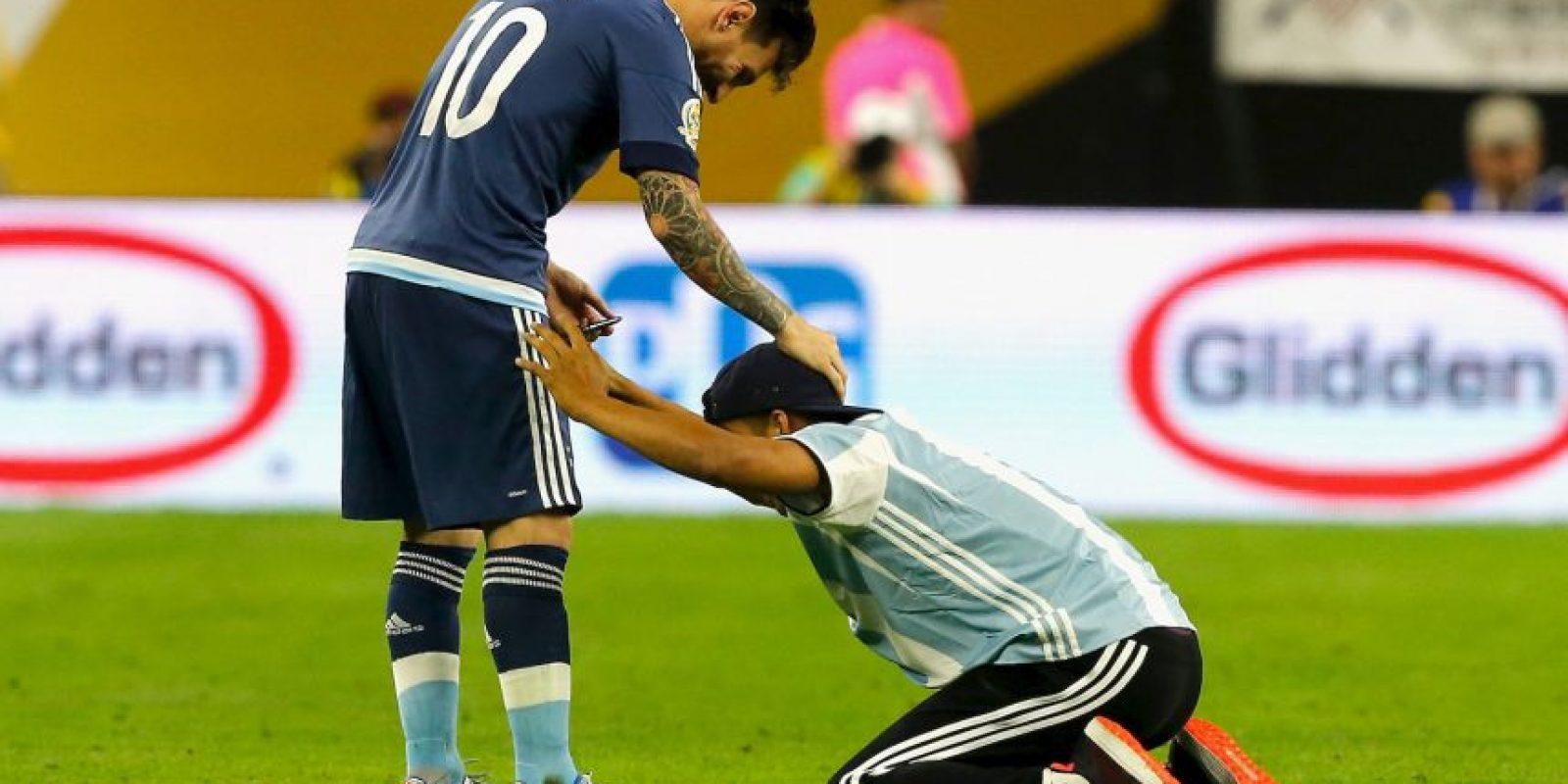 Lionel Messi cumple 29 años Foto:Getty Images
