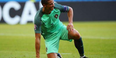 Cristiano Ronaldo disparó 32 veces al arco en la fase de grupos, pero convirtió 'sólo' tres goles Foto:Getty Images