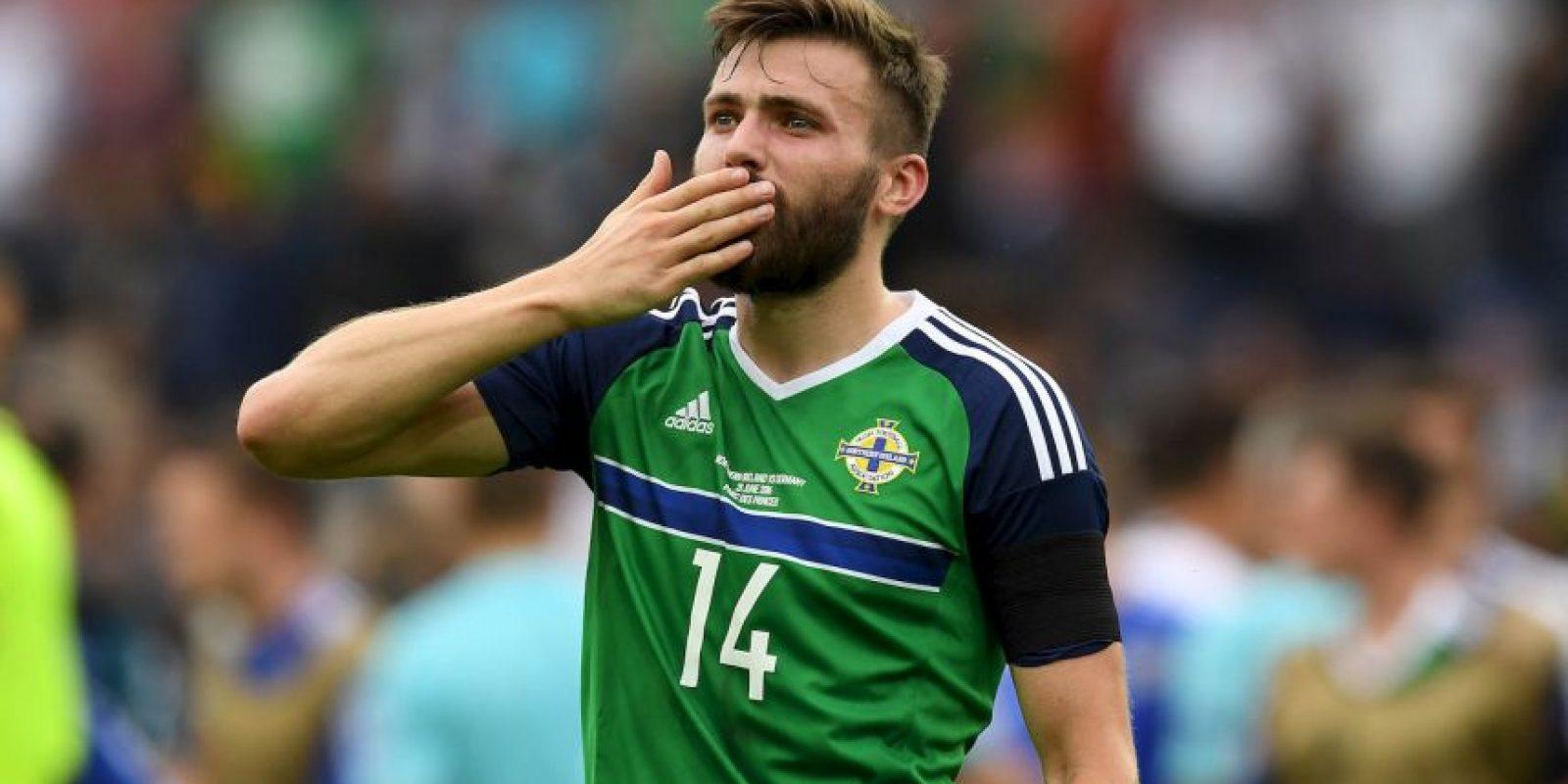 Irlanda del Norte sorprendió a todos avanzando a octavos de final Foto:Getty Images