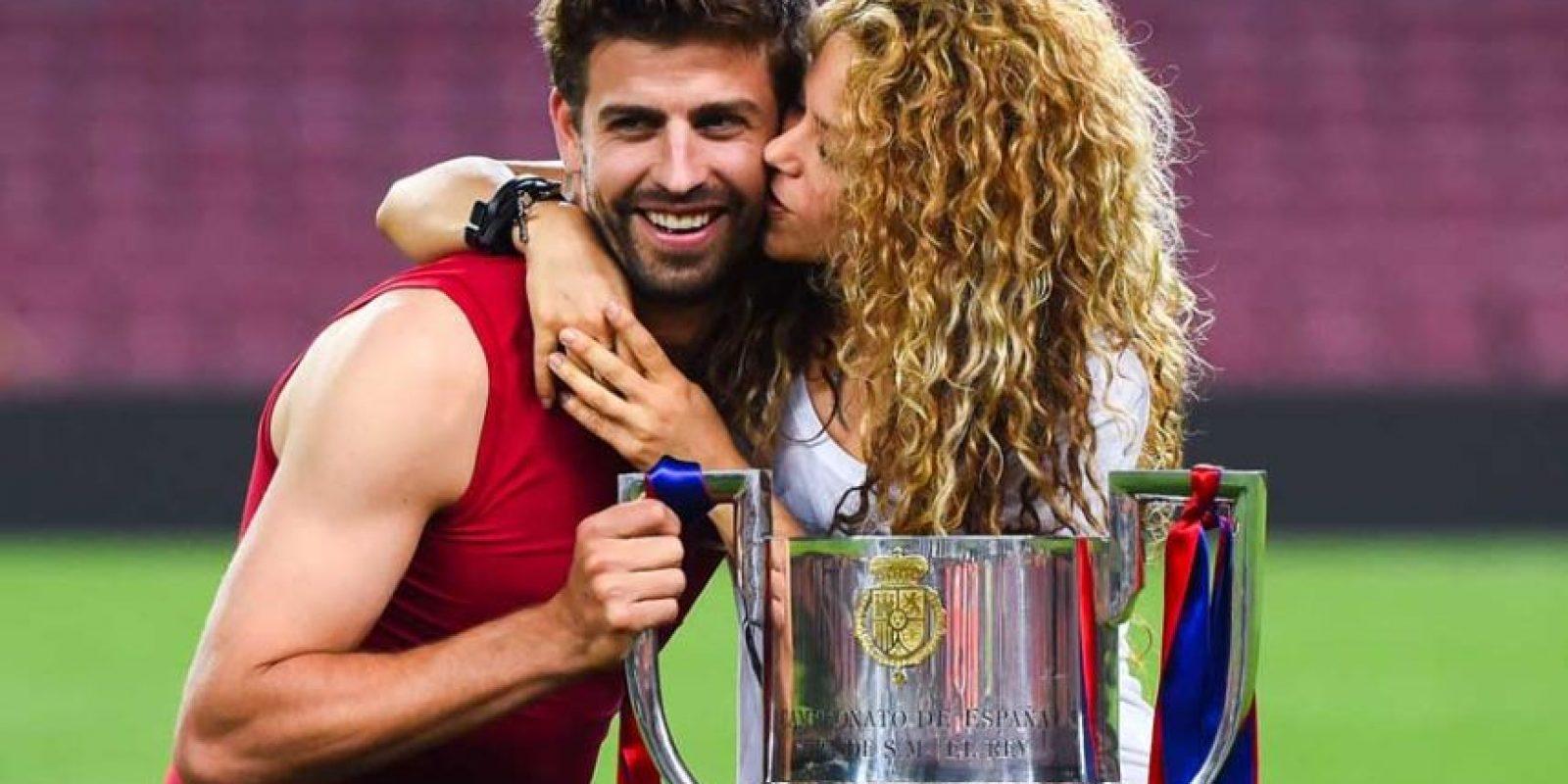 Su pareja, Gerard Piqué, está disputando el torneo con España. Foto:Vía instagram.com/Shakira