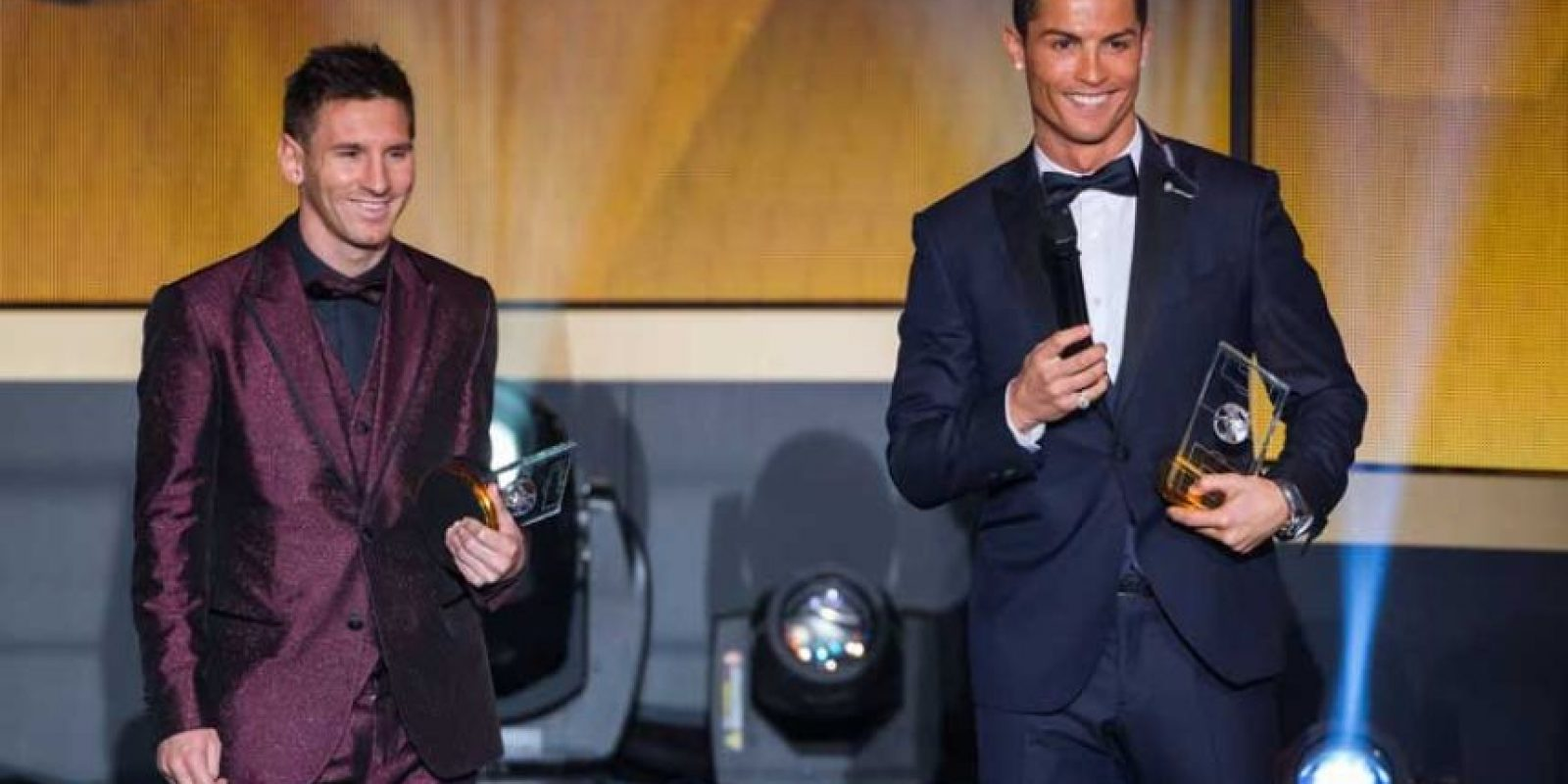 Pero siempre están en eterna competencia y superándose el uno al otro. Foto:Getty Images