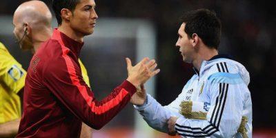"""Fuera de la cancha, Leo y """"CR7"""" se respetan como profesionales y se admiran mutuamente. Foto:Getty Images"""