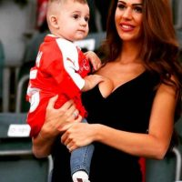Ella es albanesa, y durante la Euro también apoyó a su país. Foto:Vía instagram.com/erjona.dzemaili