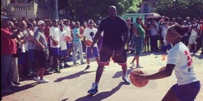 "Shaquille O""Neal ofrece su primer taller de baloncesto a jóvenes cubanos"