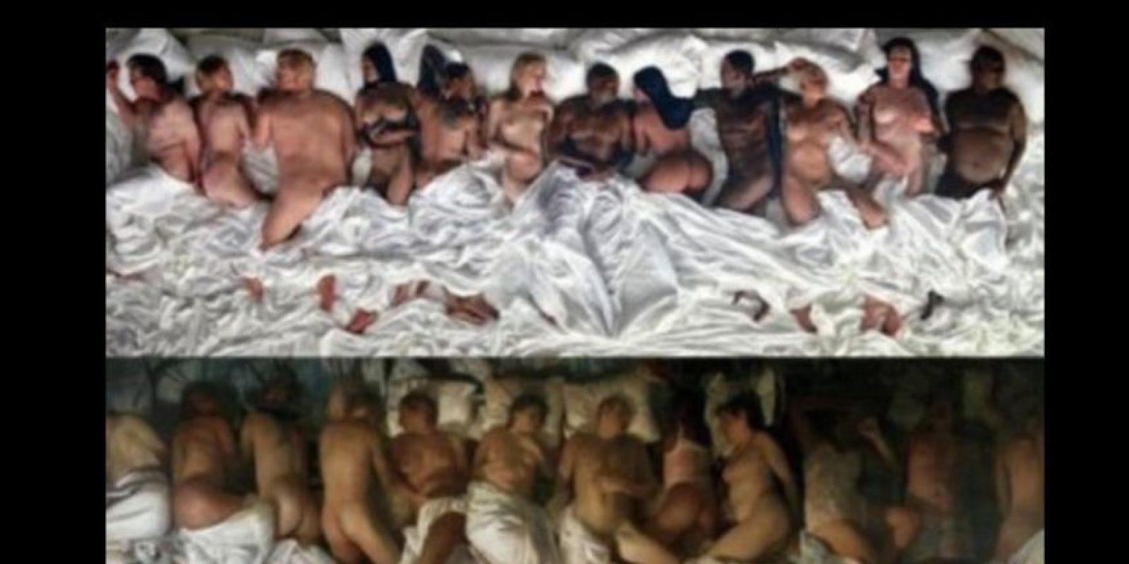 West tomó todo de Vincent Desiderius. Foto:vía Twitter