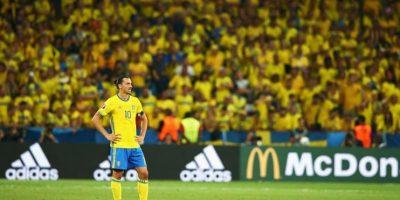 El jugador del PSG no pudo llevar a su selección a la segunda fase. Foto:Getty Images