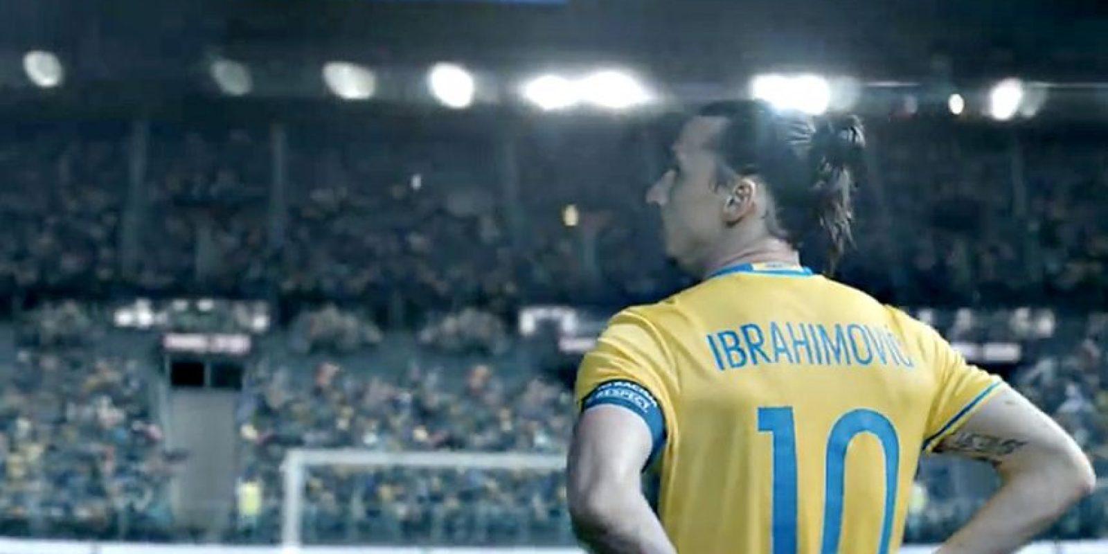 Terminó la era de Zlatan Ibrahimovic con su selección. Foto:Vía facebook.com/ZlatanIbrahimovic