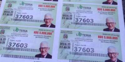 Sobrina nieta de Bosch pide desagravio público por colocar imagen en billetes de la Lotería